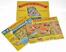3 X MATCHBOX ROADWAY SERIES LAYOUTS INCLUDING R-4