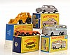 4 X MATCHBOX MODELS INCLUDING 66 GREYHOUND BUS