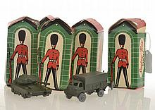 6 X SENTRY BOX SERIES MODELS INCLUDING  2 X TANK;