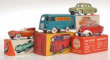 4 X FRENCH DIECAST MODELS INCLUDING CIJ EUROPARC