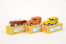 3 X REISSUE J.R.D. (FRANCE) MODELS INCLUDING 2 X