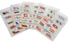 COMPLETE SET OF JOHN PLAYER & SONS 'FLAGS OF THE LEAGUE OF NATIONS' COLLECTOR CARDS