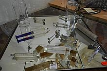 COLLECTION OF VINTAGE GLASS SYRINGES