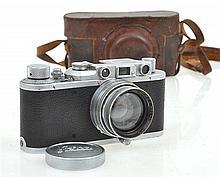 LEICA II NO. 279362 (1938) WITH SUMMITAR F3.5CM 1:2 LENS NO. 506182 (1959), CONDITION: