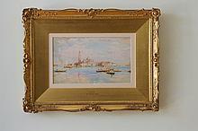 Ebenezer Wake Cook(1844-1926),Venice1899, watercolour on paper, 19x31cm, signedlowerleft
