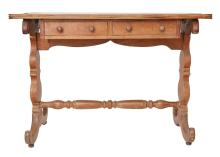 AN INDO DUTCH COLONIAL WRITING TABLE, MID 19TH CENTURY