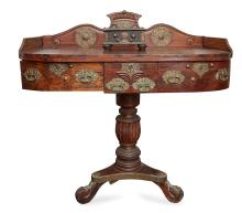 A RARE INDO DUTCH COLONIAL STANDING CLERKS DESK, 19TH CENTURY