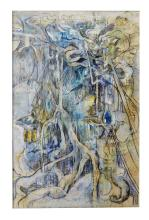 IAN VAN WIERINGEN (BORN 1944) I Love You Maties 1982 gouache and pastel on paper