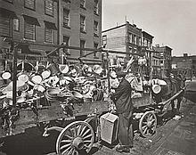 BERENICE ABBOTT (AMERICAN, 1898-1991) Travelling Tin Shop, circa 1936 silver gelatin print