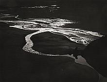 MORLEY BAER (AMERICAN, 1916-1995) Little Sur, 1969 silver gelatin print