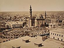FÉLIX BONFILS (FRENCH, 1831- 1885) 43 Cairo Taken From The Citadel, 1880s albumen print