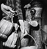 MARGARET BOURKE-WHITE (AMERICAN, 1904-1971) Collecting Water, Naples 1943 silver gelatin print