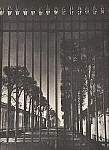 BRASSAI (GYULA HALASZ) (HUNGARIAN-FRENCH, 1899-1904) Untitled (Gates), 1933 silver gelatin print from the book by Brassai 'Paris by...