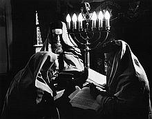 ARNOLD S. EAGLE (HUNGARIAN-AMERICAN, 1909-1992) In The Synagogue, circa 1937 silver gelatin print