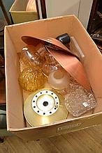 A COLLECTION OF 1970'S LIGHTING PARTS
