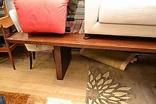 A QUALITY HANDMADE TIMBER DINING TABLE