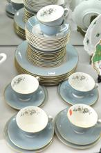 A ROYAL DOULTON DINNER SERVICE FOR SIX WITH EXTRAS
