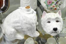 A ROYAL ADDERLEY SCOTTY DOG BOTTLE
