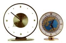 Rhewum & Imhof Mid Century Desk Clock Lot
