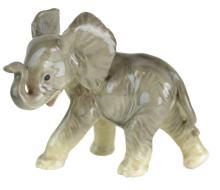 Circa 1950s West Germany China Elephant Figurine