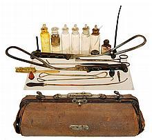 1870's Medical Bag & Instruments