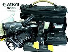 Canon UCS5 8mm Video Camera & Accessories