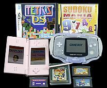 Nintendo DS Lite & Game Boy Advance w/ Extras