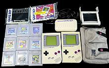 PAIR Original Nintendo Game Boy w/ Games, Case