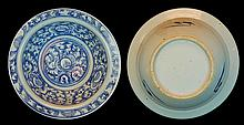 Chinese Blue/White Bowl, Late 19th-Early 20th Cen.