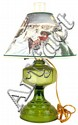 Green Electric Oil Lamp