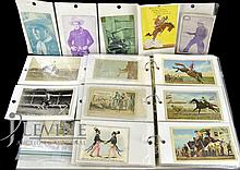 Western Ephemera: Postcards, Rodeo, Cowboys