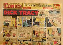 May 26, 1957 Comic Strip Newspaper w/ Dick Tracy, Etc...