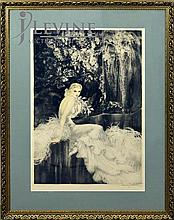 Louis Icart (1888 - 1950) 1937 New York Print