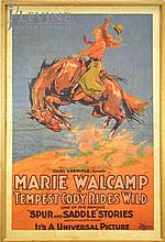 Vintage Tempest Cody Rides Wild Movie Poster