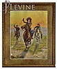 Framed Western Print by Harry Payne, Cowgirl