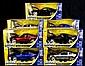 Bigtime Muscle Die Cast Cars, 7 Mustang GT's 1:24