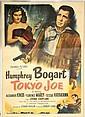 Original Lithograph c1949 Bogart in Tokyo Joe
