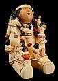 Vintage Nandi Hopi Pottery Storyteller