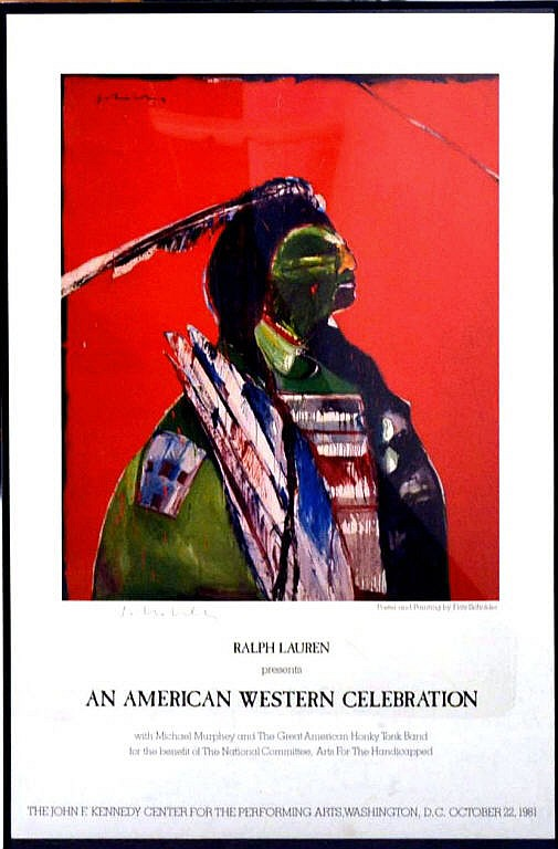 Poster, Ralph Lauren, American Western Celebration