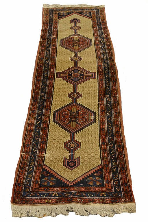 Sarab, camel hair runner, approx. 33