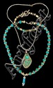 Sterling Turquoise Lot