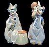 Lladro Porcelain Gloss PAIR #8093 & #8092