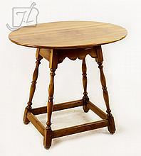 1953 L & JG Stickley Cherry Wood Lamp Table