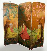 Charles Bensco (1894-1960) Buddhism Screen