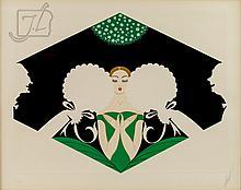 Romain De Tirtoff (1892-1990) Ltd Ed Serigraph