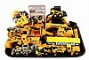 (13) Pcs. of Die-Cast Construction Toys w/ Extras