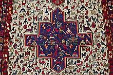 Very Fine Vintage Tribal Rug