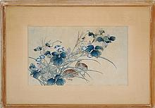 Antique Japanese Oversize Floral Print
