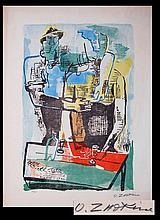 Ossip Zadkine (1890 - 1967) Ltd. Ed. Lithograph