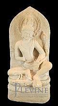 Sandstone Deity Sculpture